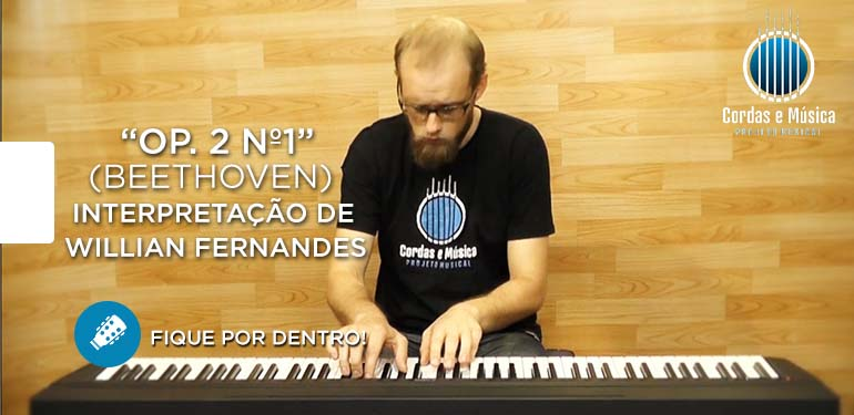 Willian Fernandes – Novo Professor de Piano Clássico – Fique por Dentro