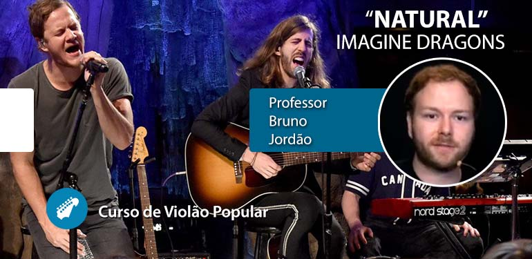 Imagine Dragons (Natural) – Aula de Violão Popular